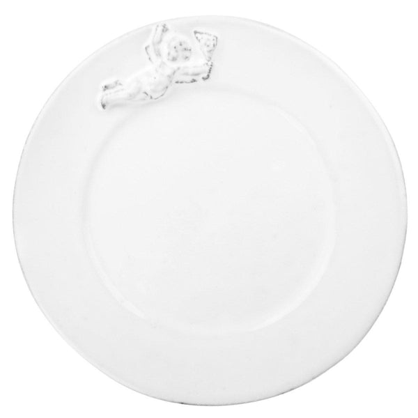 Mon Ange Plate-Dessert plate ⌀20 H1,5-Handmade in France by CARRON