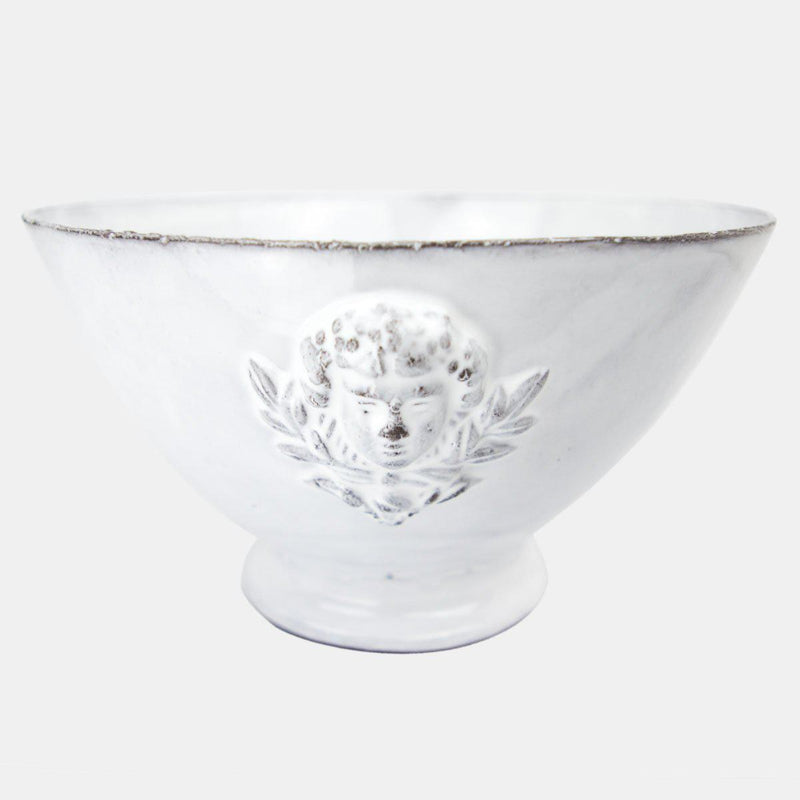 Mon Jules bowl on foot-L (18x18x10,5cm)-Handmade in France by CARRON