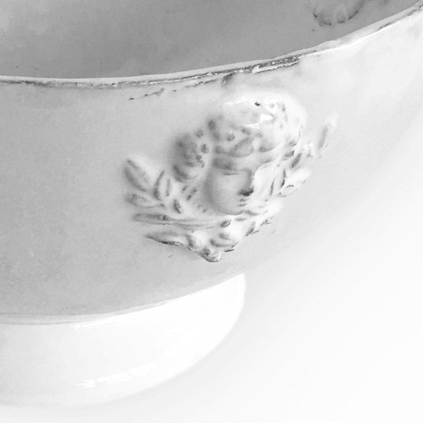 Mon Jules serving bowl with handle-33x33x18cm-Handmade in France by CARRON