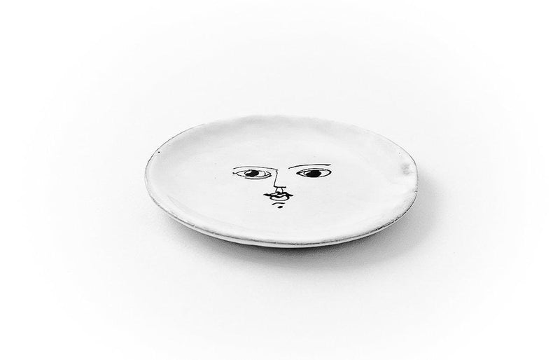 Moon plate-Handmade in France by CARRON