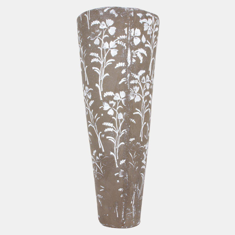 Muse vase-20x20x50cm-Handmade in France by CARRON