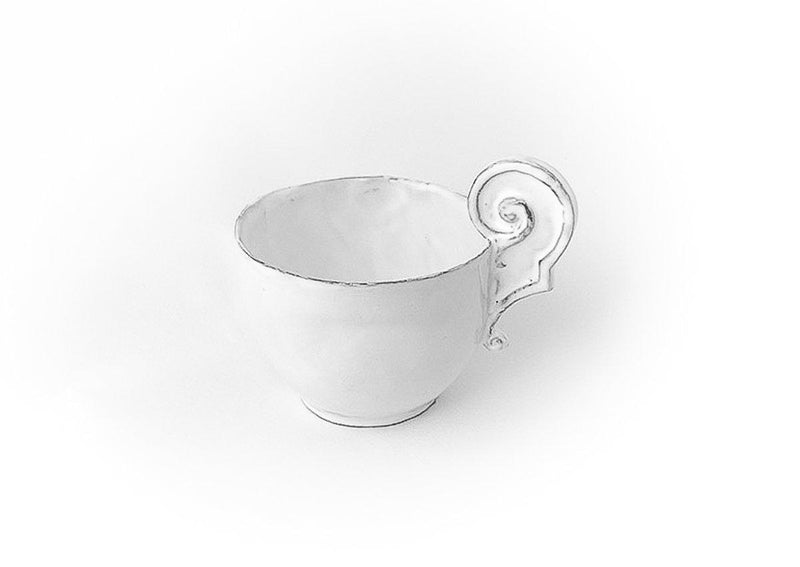 Paris cup with decorated handle-Handmade in France by CARRON