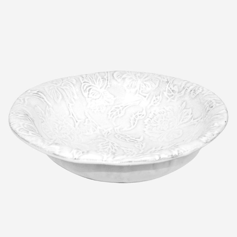 Pivoine salad bowl-23x23x7cm-Handmade in France by CARRON