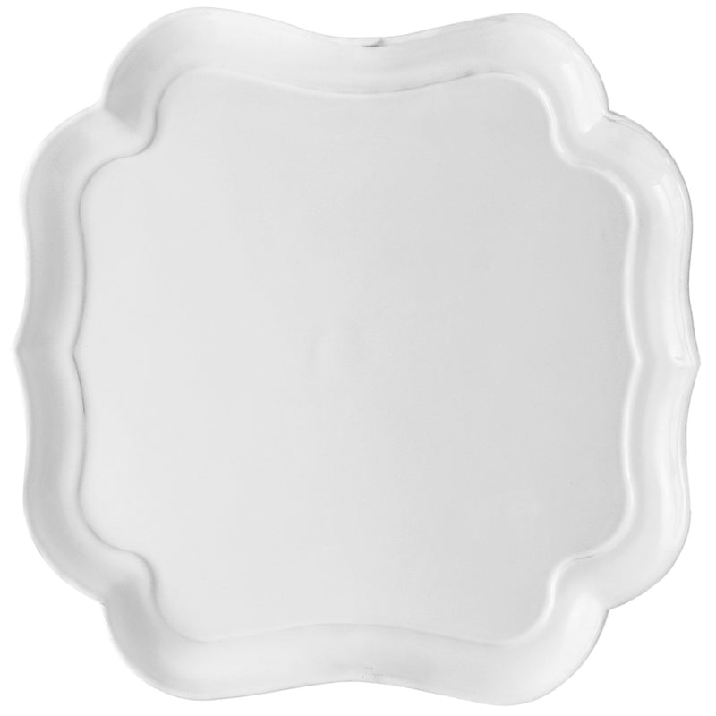 Mademoiselle square platter-Classic L ⌀35 H2,5-Handmade in France by CARRON