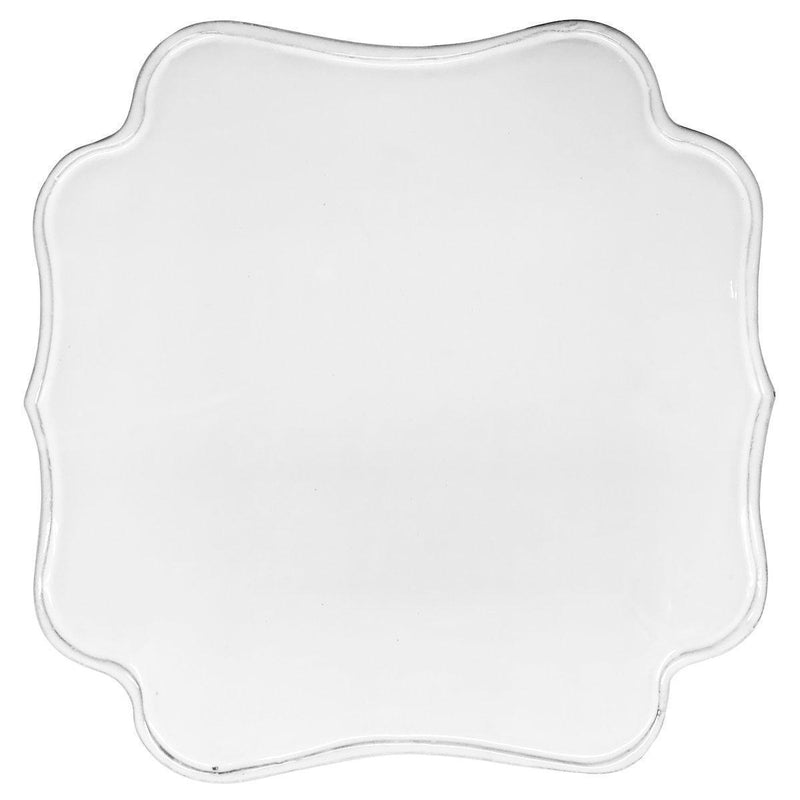 Mademoiselle square platter-Flat ⌀30 H1,9-Handmade in France by CARRON