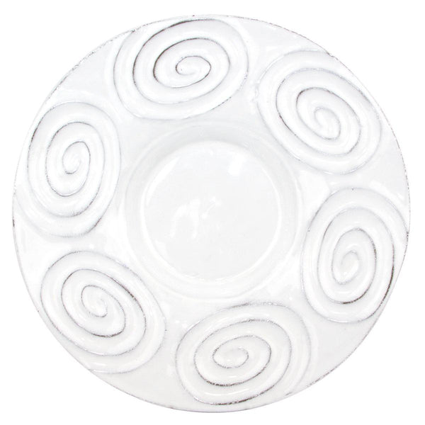 Saturne platter-28x28x4cm-Handmade in France by CARRON