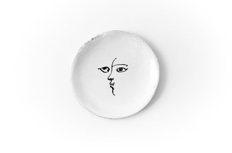 Toi et moi plate-Handmade in France by CARRON