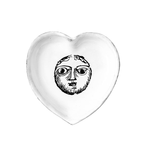 Pierre Carron ceramic heart