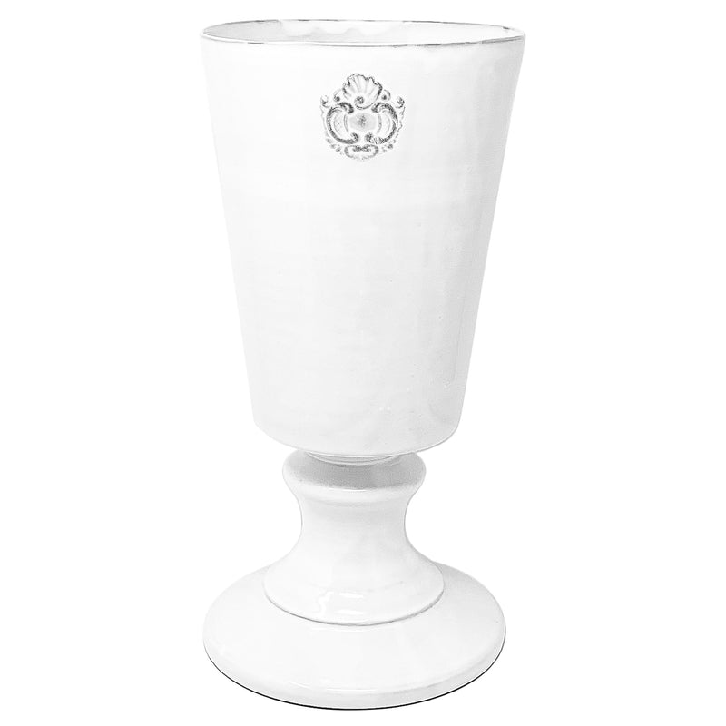 Charles footed vase-L (20x20x42cm)-CARRON-Paris