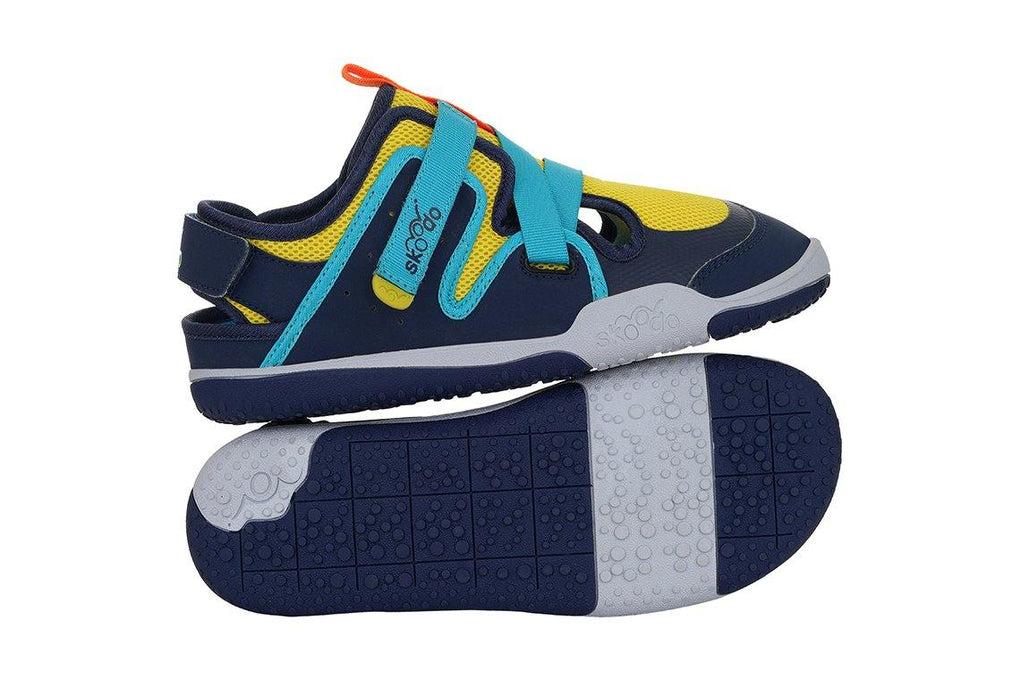 ZIGGIE ZAG | Sunshine Yellow-Navy - Combo with Personalised Stamp (PRE-PAID ONLY) - Skoodo