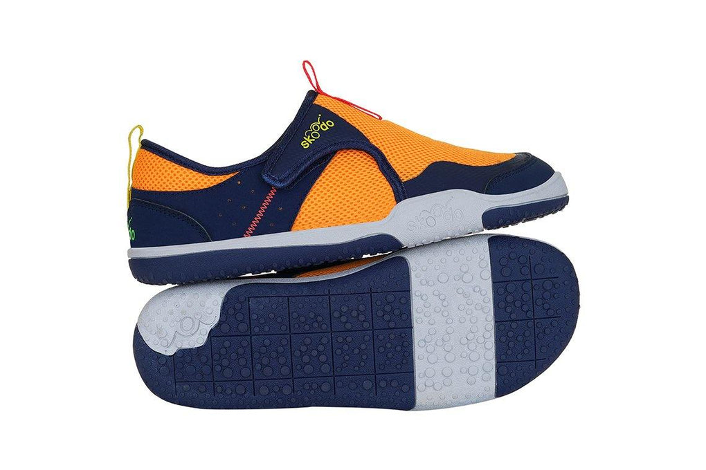 WINGER FLY | Fiery Orange-Navy - Combo with Personalised Stamp (PRE-PAID ONLY) - Skoodo