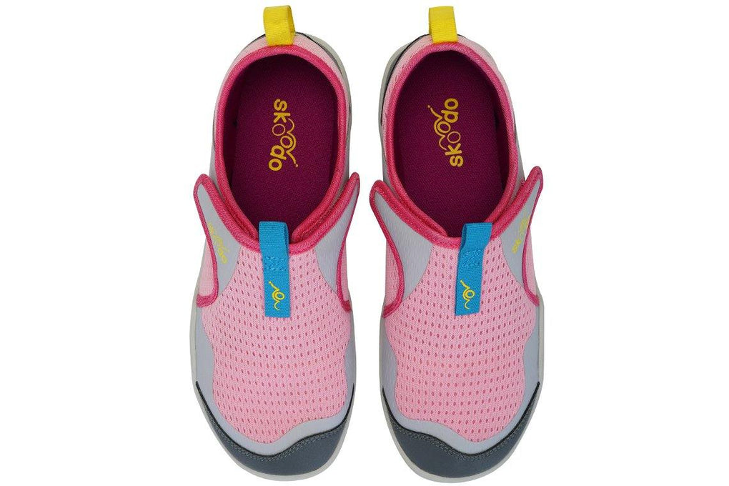 WINGER FLY | Candy Pink-Grey - Skoodo