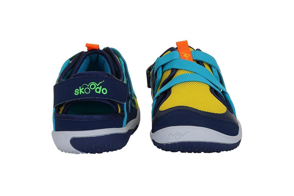 ZIGGIE ZAG | Sunshine Yellow-Navy - Skoodo