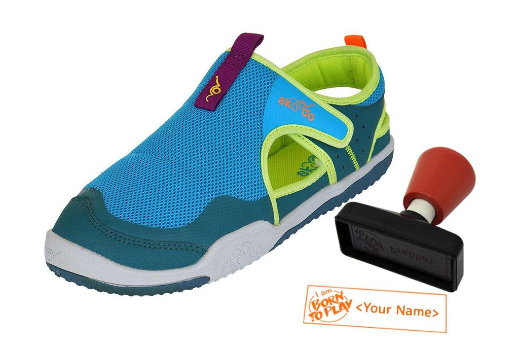 WINGER GLIDE | Neptune Blue-Jade - Combo with Personalised Stamp (PRE-PAID ONLY) - Skoodo