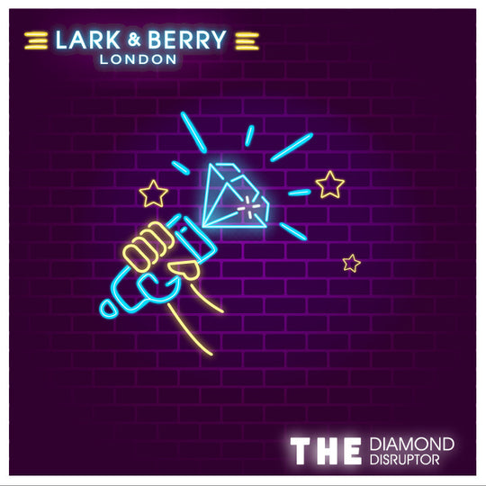 Lark & Berry Has a Podcast – Our First Episode of 'The Diamond Disruptor' is Now Live