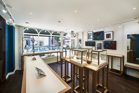 Lark and Berry cultured diamonds jewellery shop
