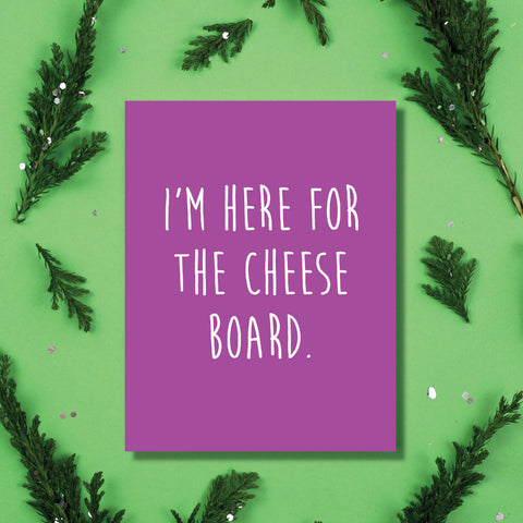 Cheese Board Card