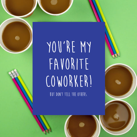 Favorite Coworker Card