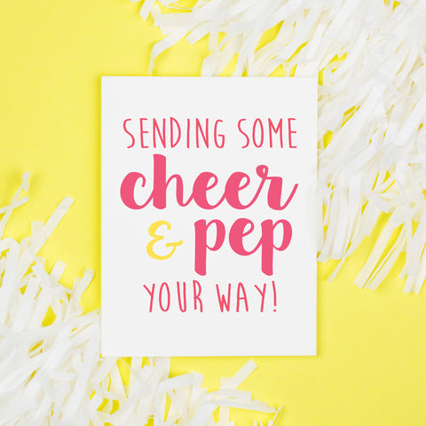 Cheer & Pep Card