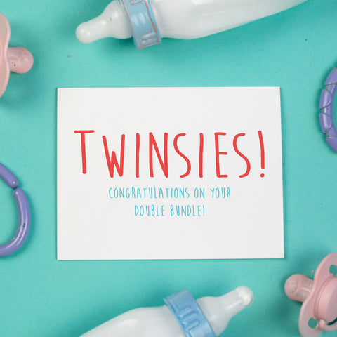 Twinsies Card
