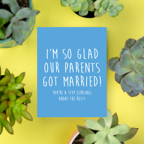 Parents Got Married Card