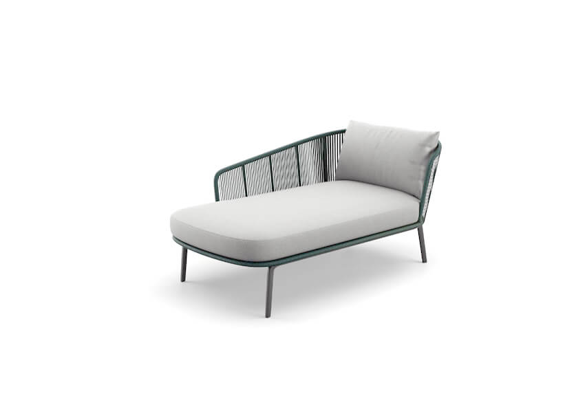 Dedon RILLY Daybed links/rechts