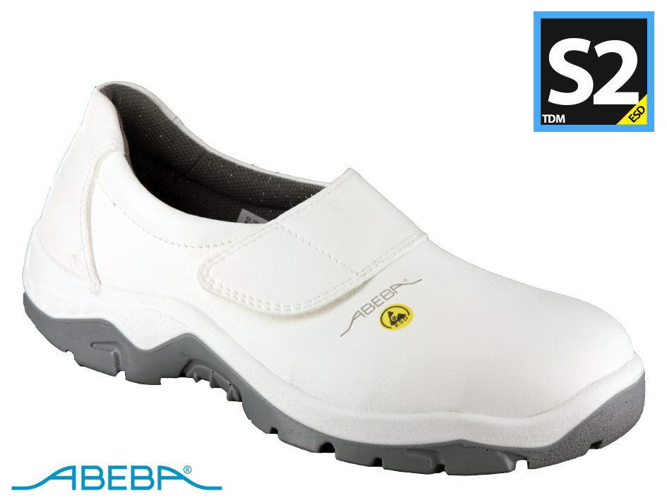 Abeba Slipper White