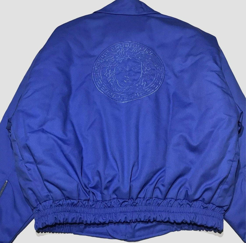 Versace Embroidered Big Logo Jacket - Original Allure