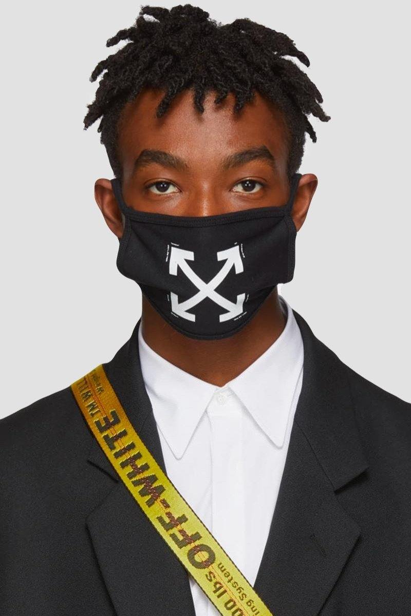 Off-White Arrows Face Mask - Original Allure