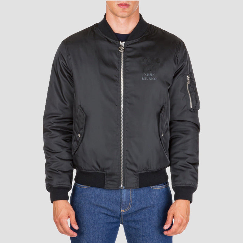 Moschino Milano Couture Bomber Jacket - Original Allure