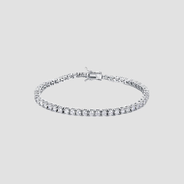 Sterling Silver 925 Tennis Bracelet - Original Allure