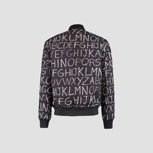 Moschino Alphabet Spell Out Bomber Jacket - Original Allure