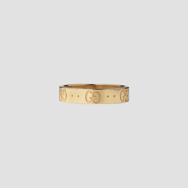 Gucci Icon 18k Yellow Gold Ring - Original Allure