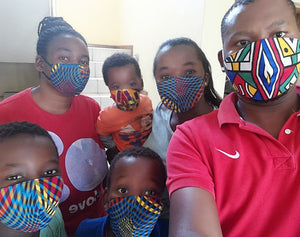 Cloth masks available at P&H boutique South Africa
