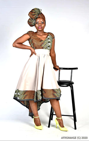 Thato brown summer dress