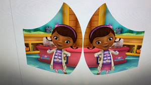 kiddies mask -Doc McStuffins