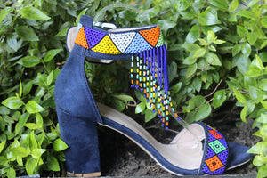 Blue beaded heel WEBSITE