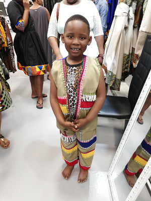 Zulu suit kids