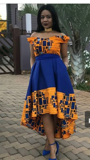 Thato Million Block dress