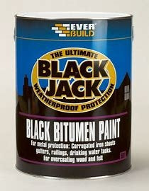 Everbuild Black Bitumen Paint
