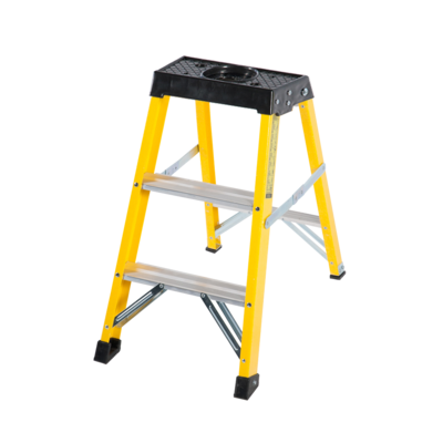3 Step Single Sided Fibreglass Step Ladder