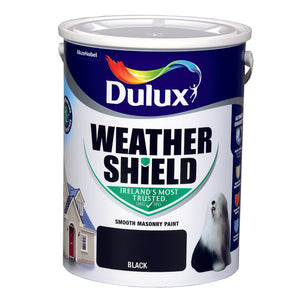 Dulux Weathershield Black  08E53 5L
