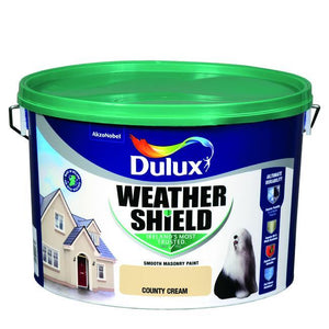 Dulux Weathershield County Cream 10L