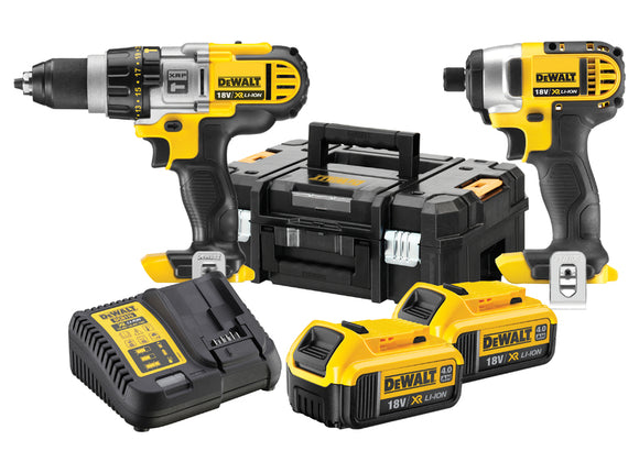 DeWalt 18V Twin 4.0Ah Kit