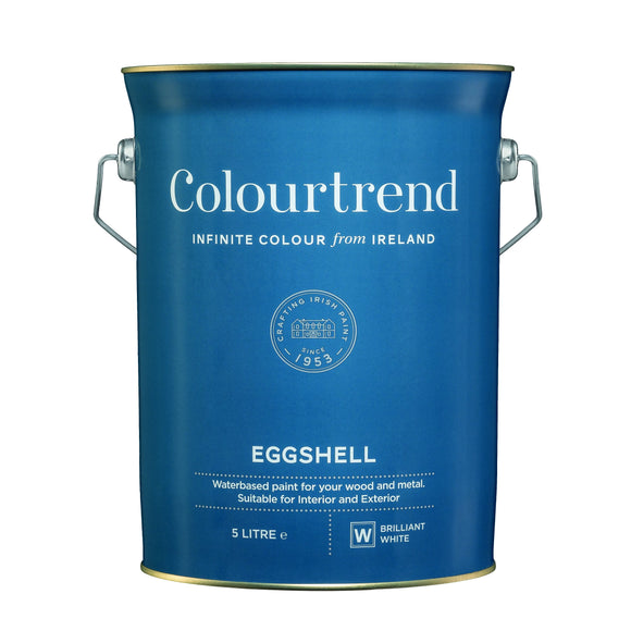 Colourtrend Eggshell White Base 5L