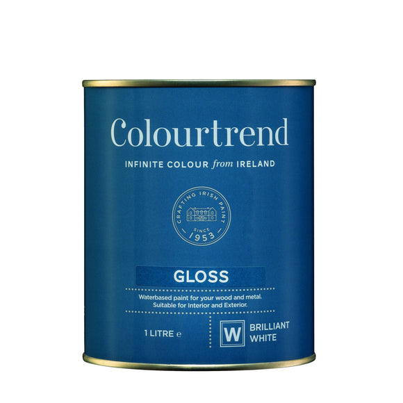 Colourtrend Gloss White Base 1L