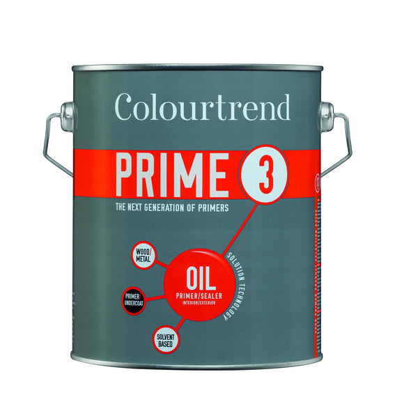 Colourtrend PRIME 3 OIL Primer Sealer 2.5L