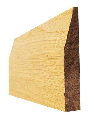 Indoors Oak 6 In Chamfered Pre Fin Skirt 16X138X3.6M(5Pcs)