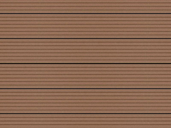 Portland Montana Hollow Deck Board Fired Earth Composite Decking