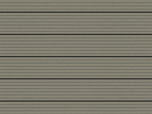 Portland Montana Hollow Deck Board Soft Grey Composite Decking